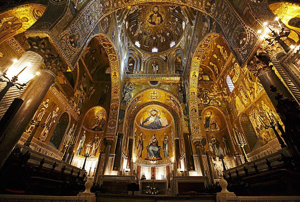 RISULTATO di immagini per Cappella Palatina di Palermo