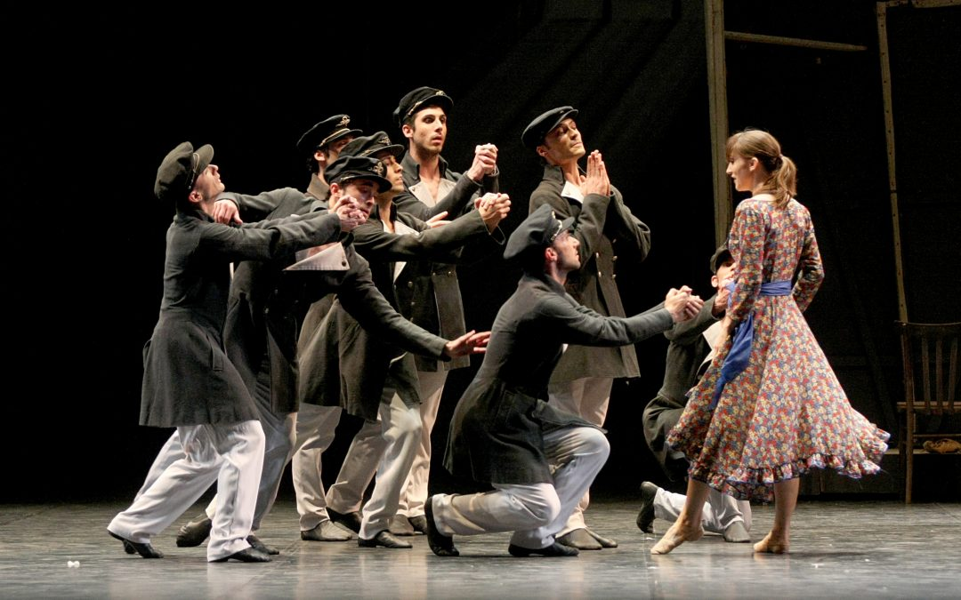 the Carmen to the theater Massimo
