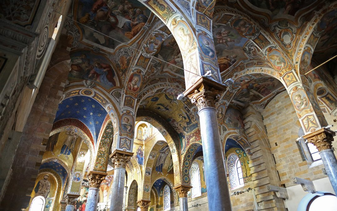 The church of Santa Maria dell'Ammiraglio (La Martorana)